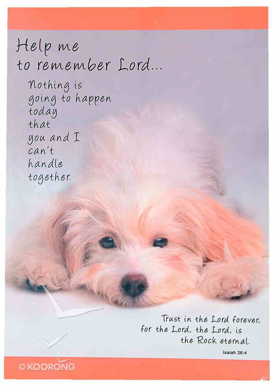 Poster Large: Help Me to Remember Lord Poster