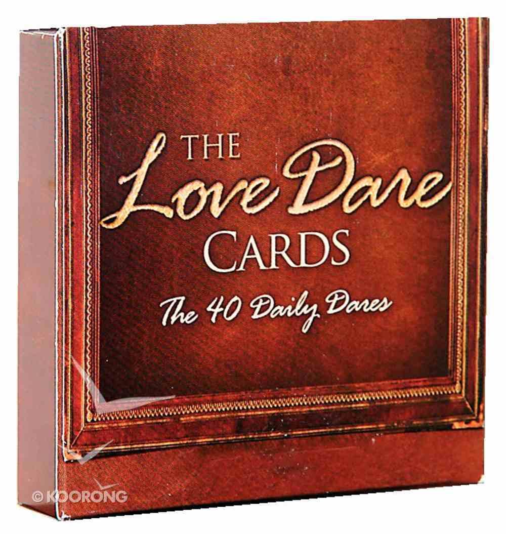 The Love Dare: 40 Daily Dare Cards Box