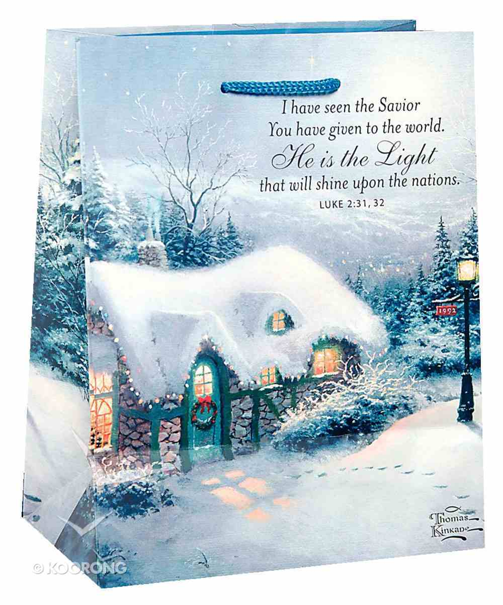 Christmas Gift Bag: Thomas Kinkade (Medium) Stationery