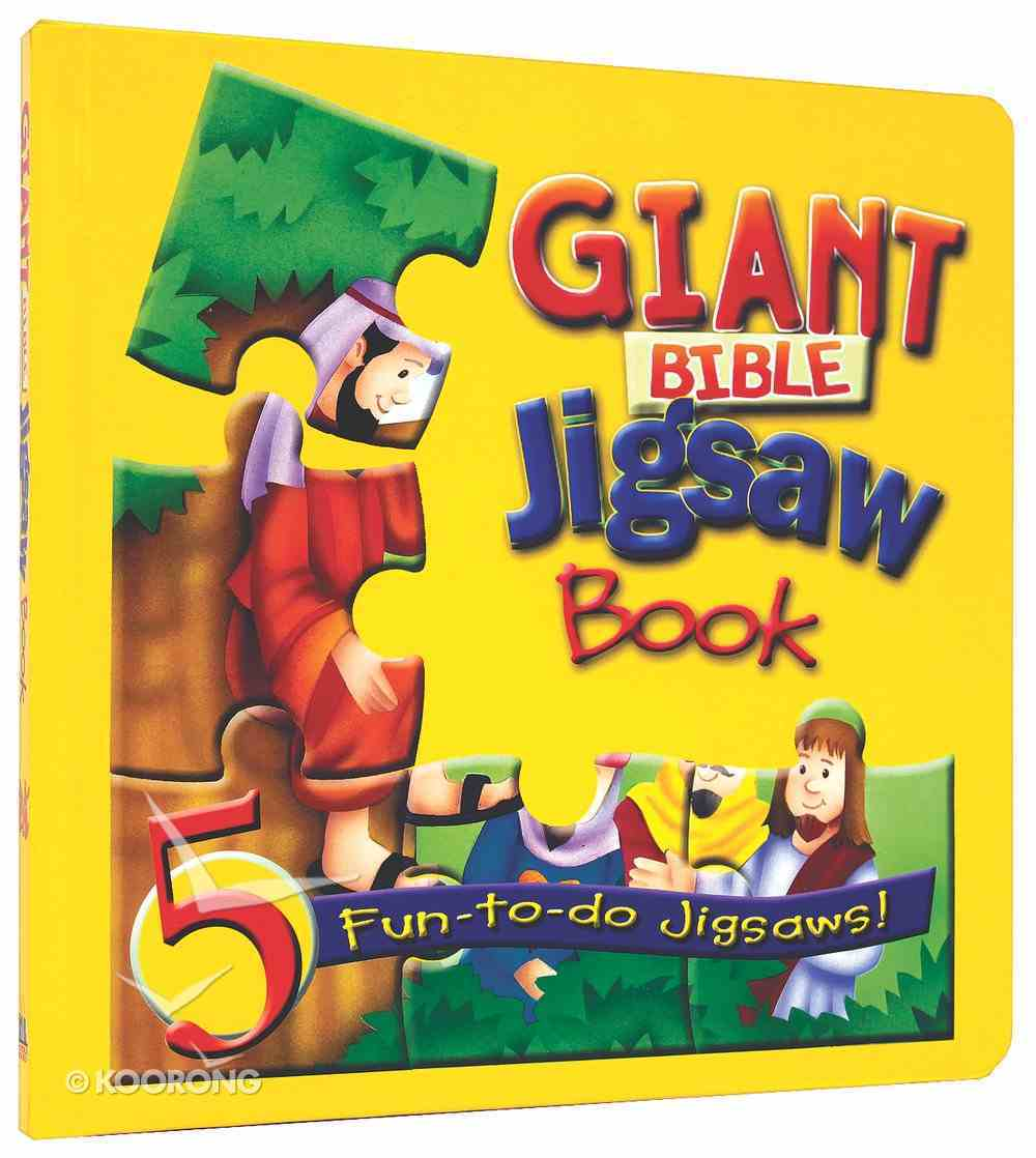 Giant Bible Jigsaw Book Board Book