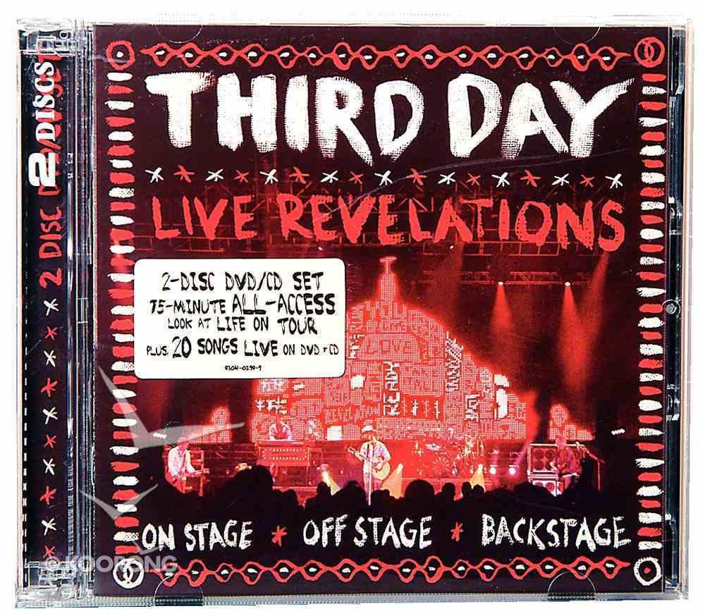 Live Revelations CD & DVD CD