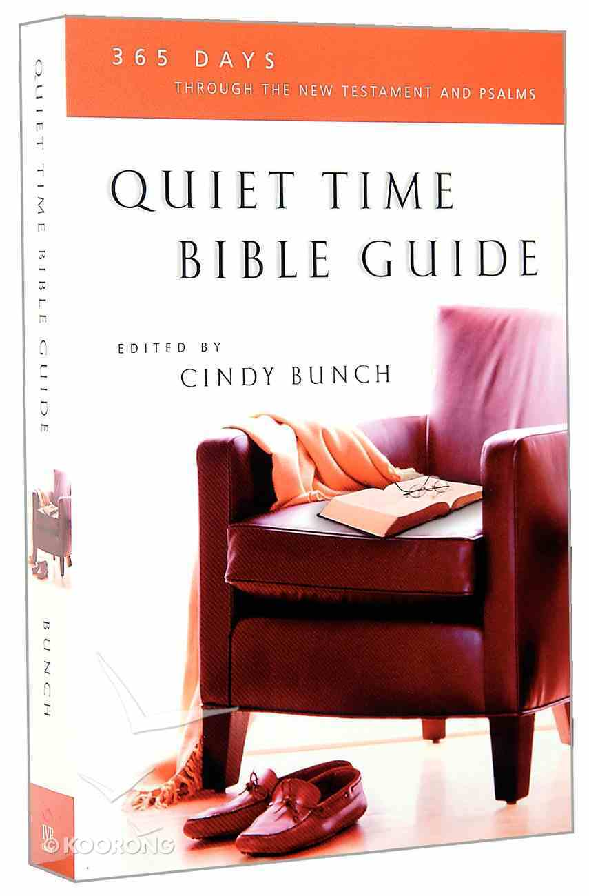 Quiet Time Bible Guide Paperback