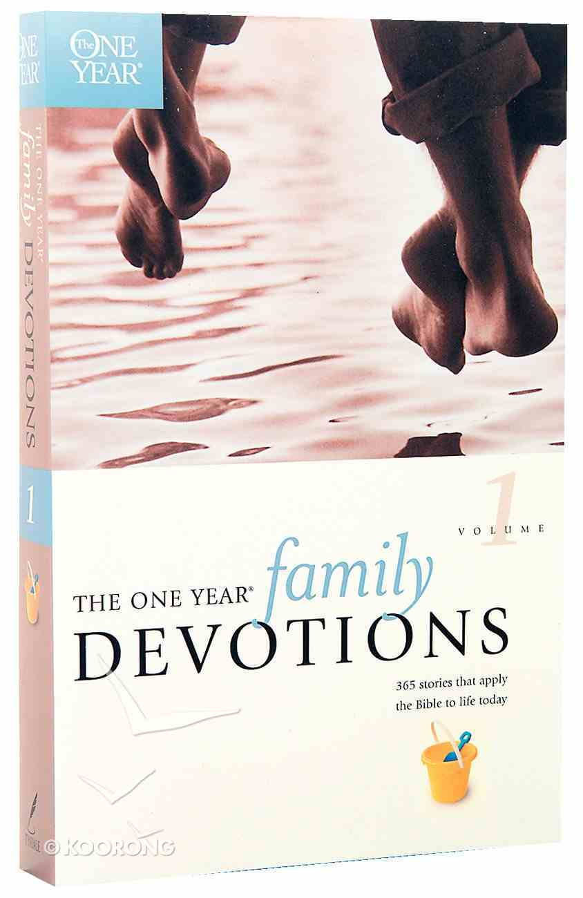 One Year Book of Family Devotions Paperback
