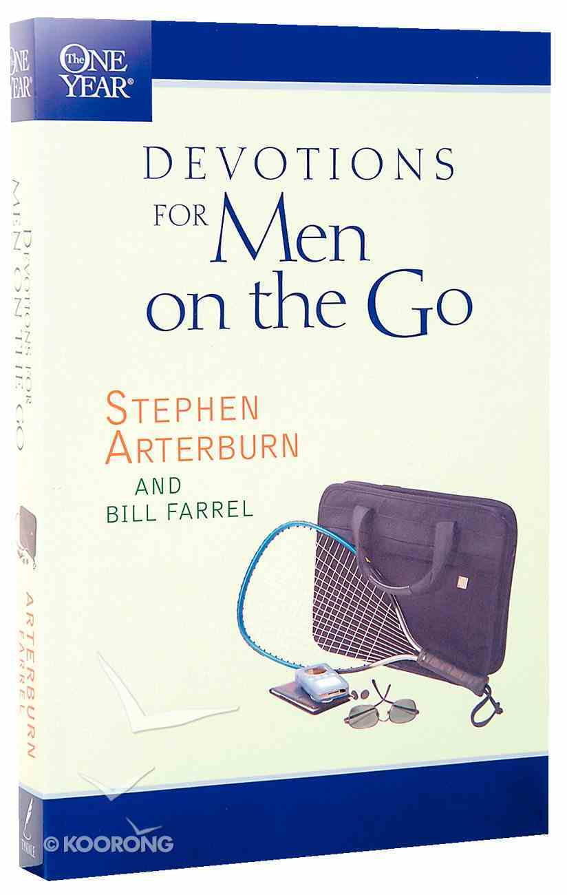 The One Year Book of Devotions For Men on the Go Paperback