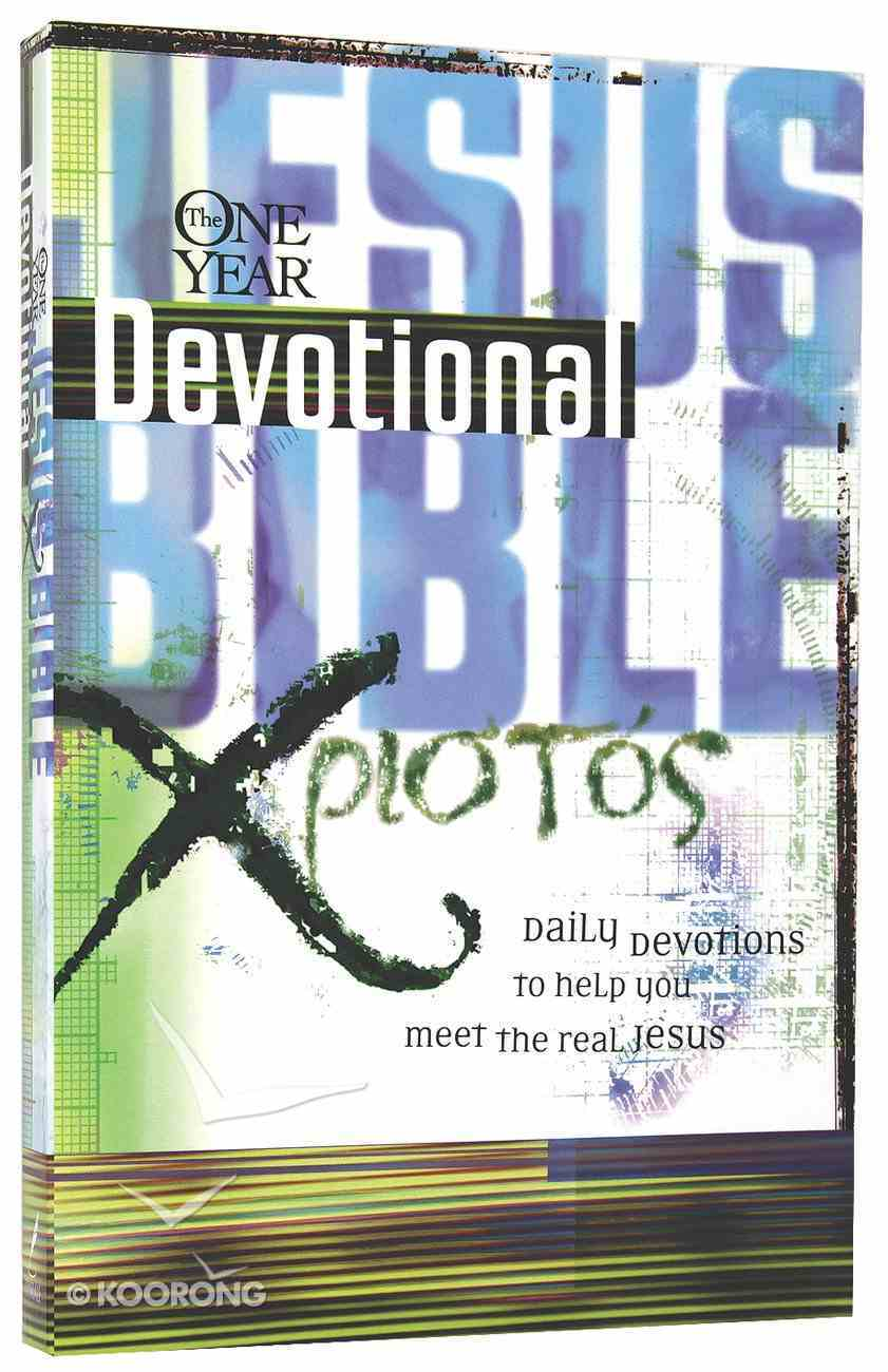 The One Year Jesus Bible Devotional Paperback