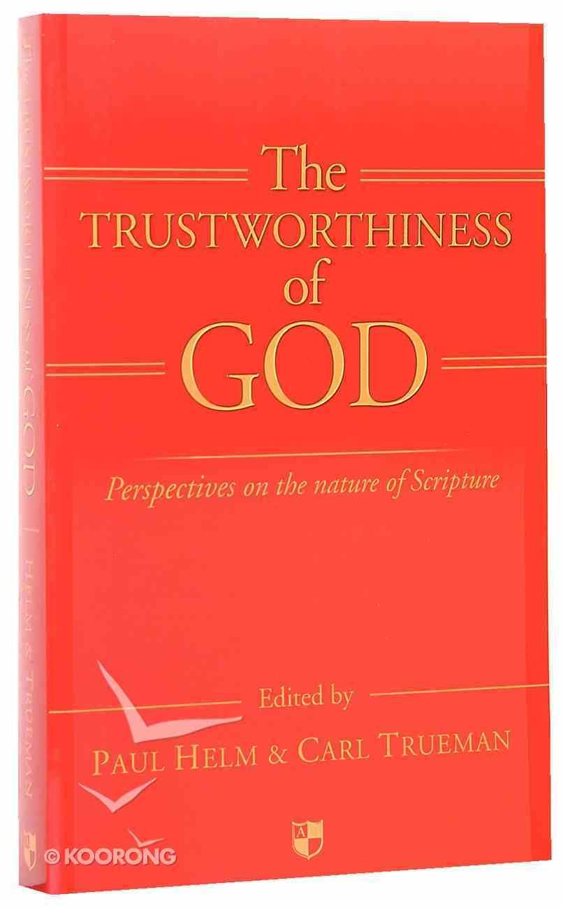 The Trustworthiness of God Paperback