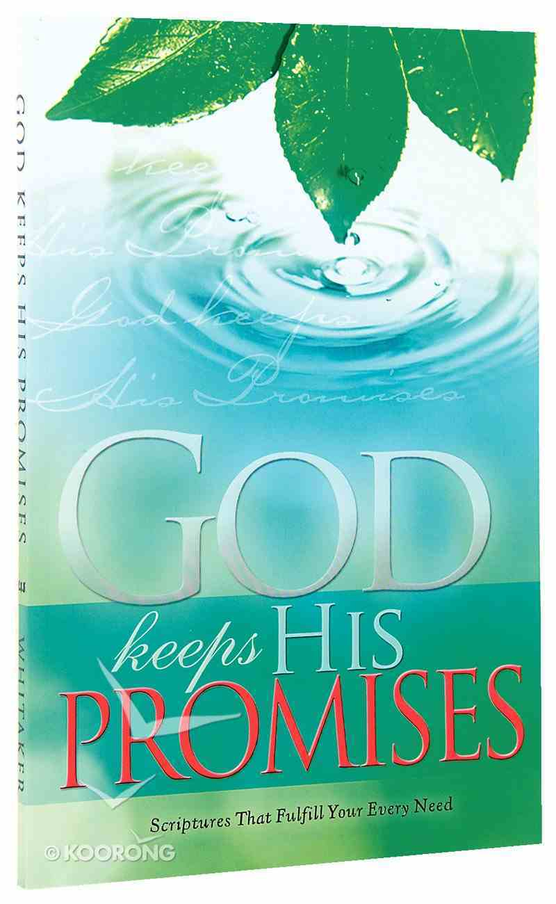 God Keeps His Promises Paperback