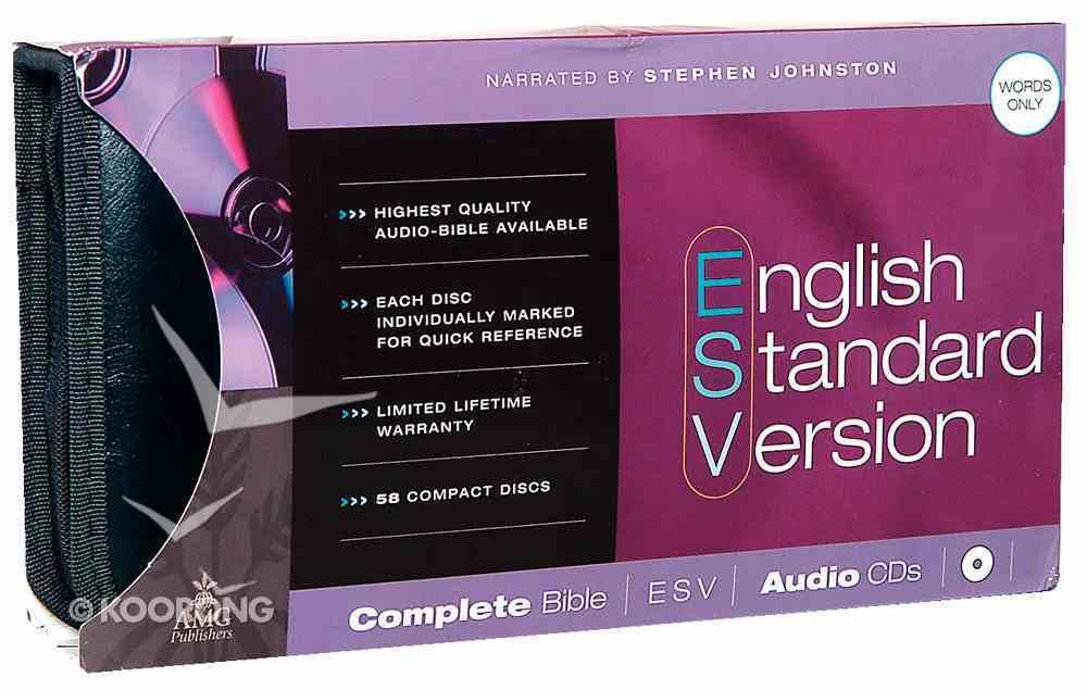 ESV Complete Bible on Audio CD CD