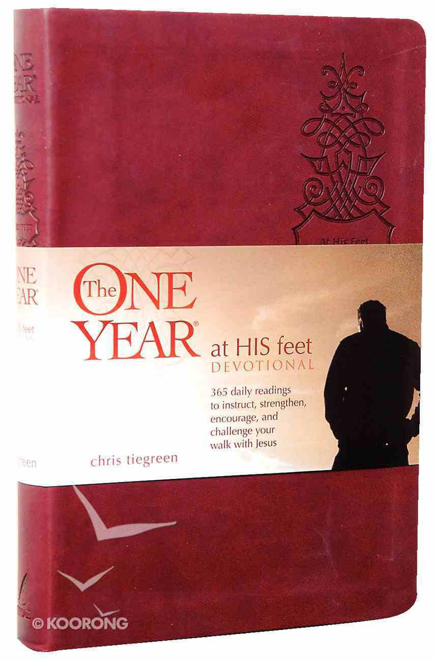 The One Year At His Feet Devotional Imitation Leather