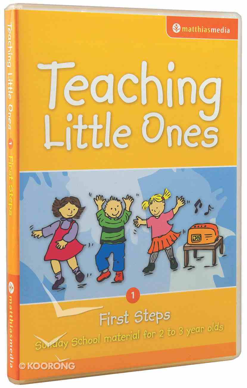 Teaching Little Ones #01: First Steps CDROM (2-3 Years) (#01 in Teaching Little Ones Sunday School Lessons Series) CD-rom