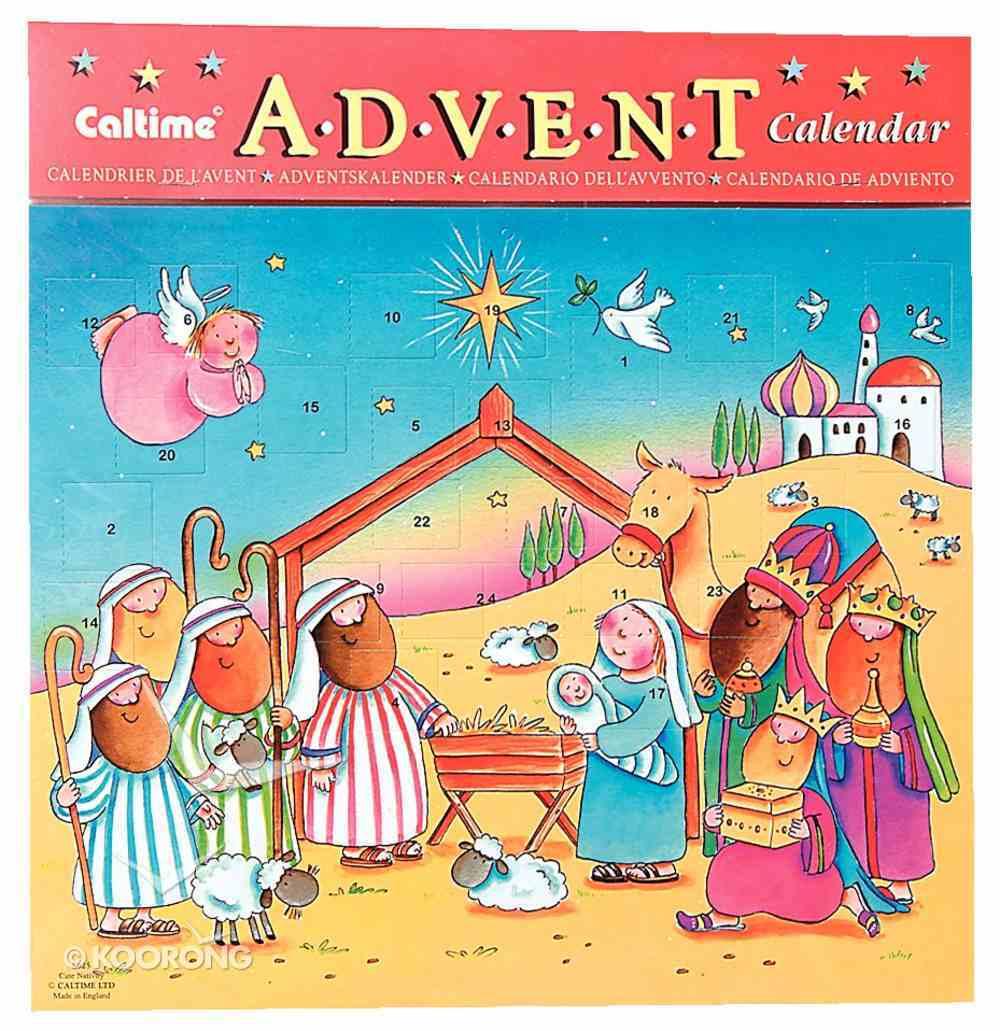 Advent Calendar: Cute Nativity Calendar