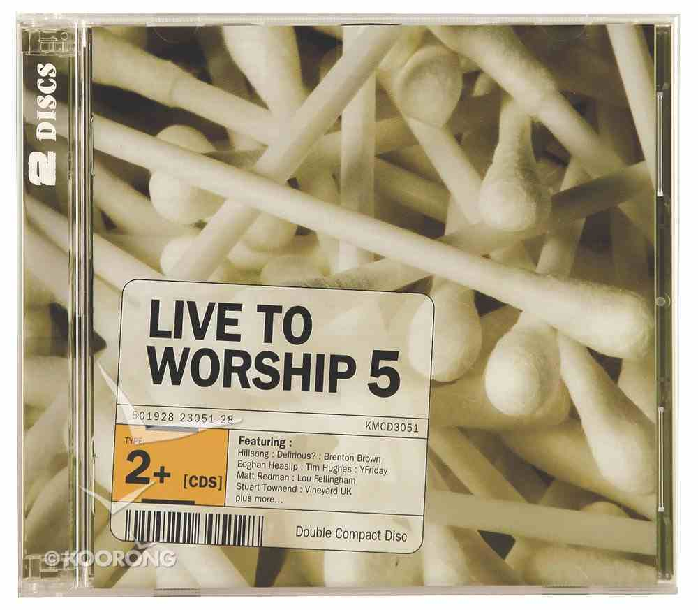 Live to Worship Volume 5 (2 Cds) CD