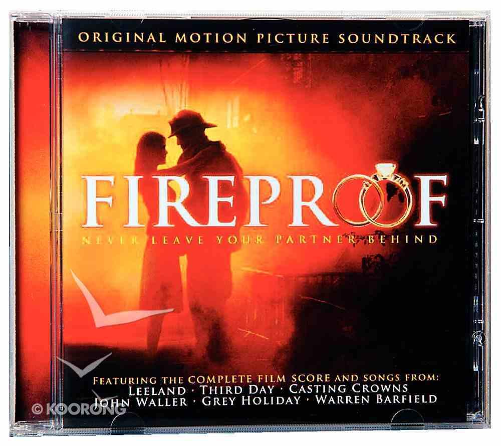 Fireproof Movie Original Soundtrack CD