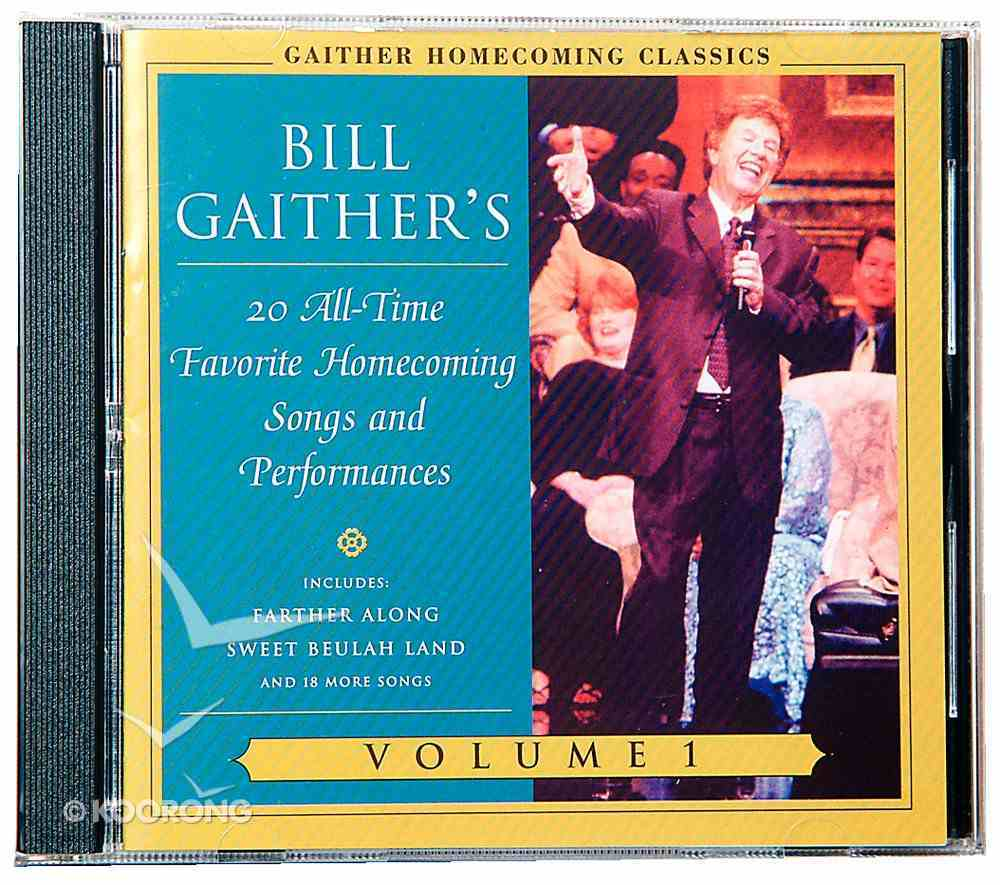 Gaither Homecoming Classics (Vol 1) CD