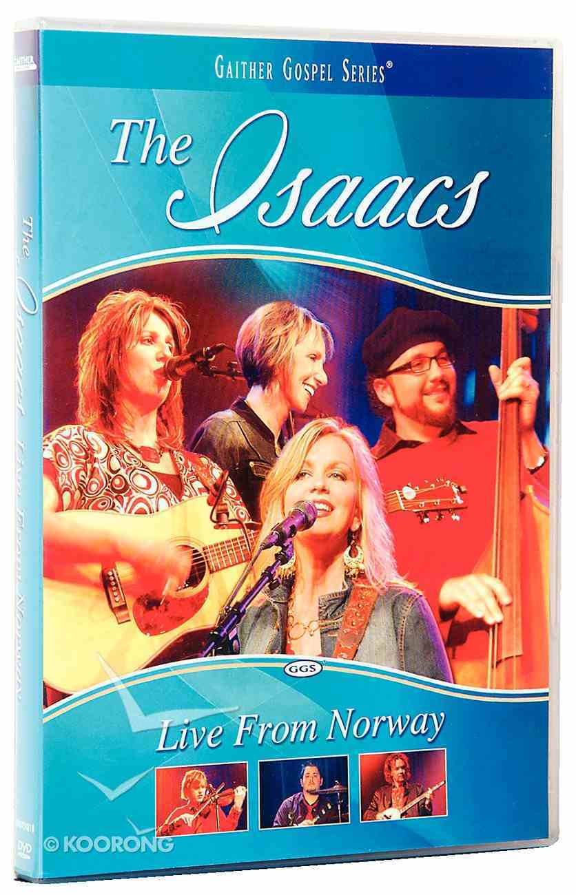 The Isaacs Live From Norway (Gaither Gospel Series) DVD