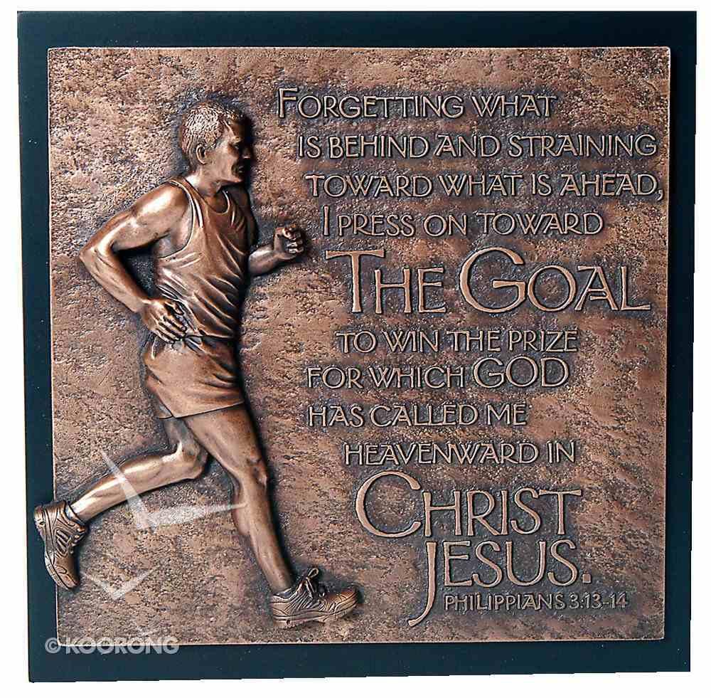 Runner Moments of Faith Sculpture Plaque Plaque