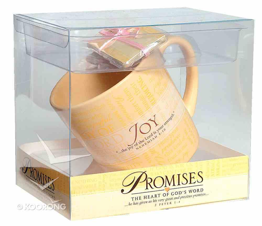 Ceramic Mug: Promises of Joy (With Scripture Cards) Homeware