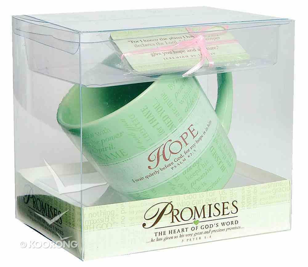 Ceramic Mug: Promises of Hope (With Scripture Cards) Homeware