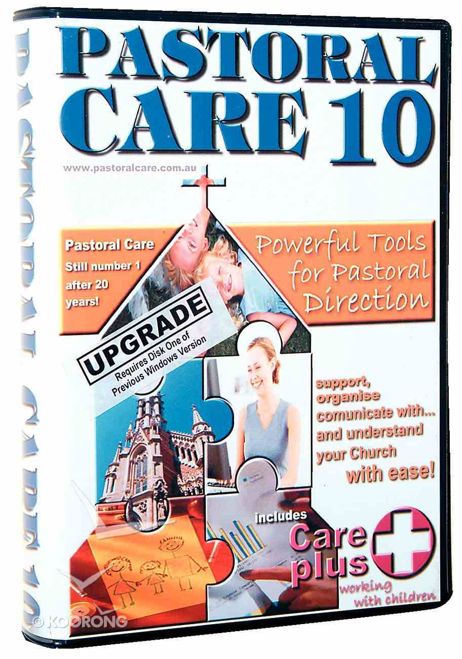 Pastoral Care 10 Upgrade From V6/V7/2002 Or 9re CDROM CD-rom