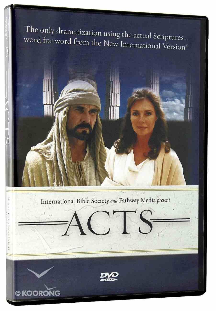 Acts (NIV Edition) (Previously Visual Bible) DVD