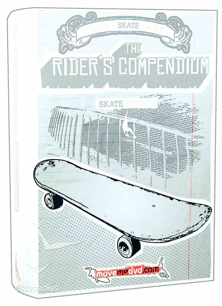 The Rider's Compendium: Skate Edition (3-pack) Pack