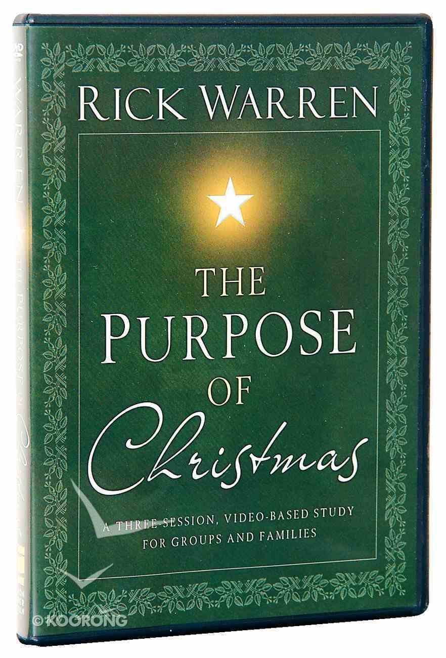 The Purpose of Christmas (Dvd) DVD