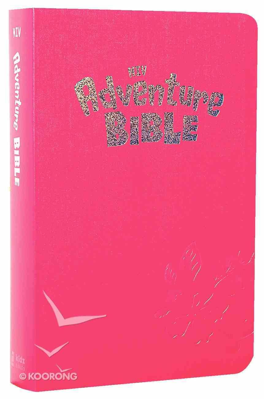 NIV Adventure Bible Tropical Pink Imitation Leather