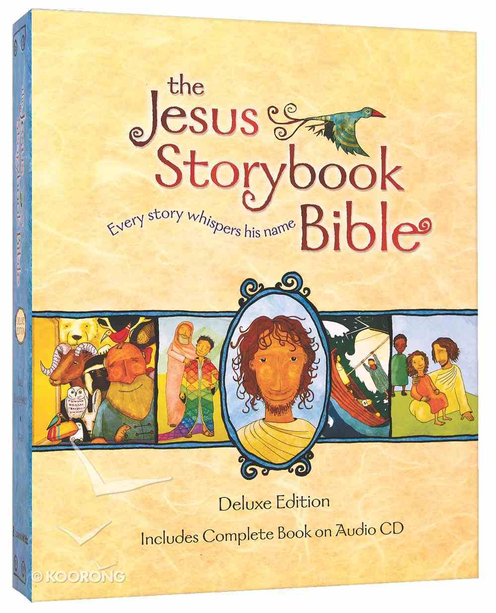 Jesus Storybook Bible, the (Deluxe) (Anglicised Cd Editon) Hardback