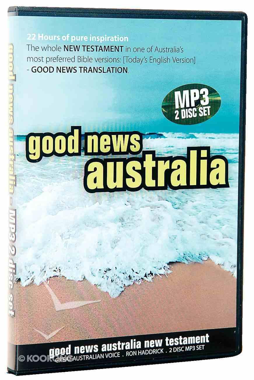 GNB Good News Australia Audio New Testament MP3 CD