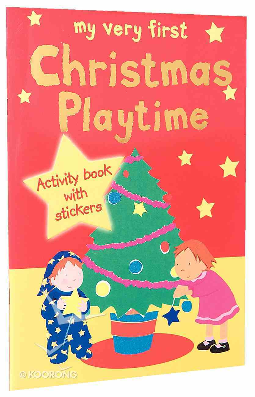 My Very First Christmas Playtime Paperback