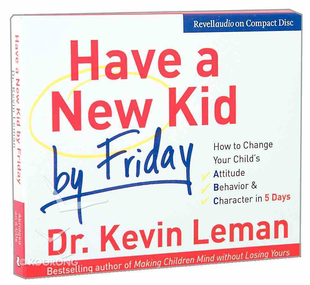 Have a New Kid By Friday (Abridged, 4 Cds) CD