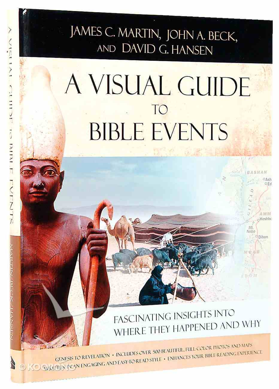 A Visual Guide to Bible Events Hardback
