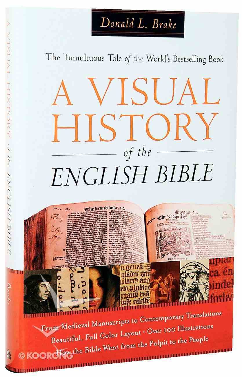 A Visual History of the English Bible Hardback