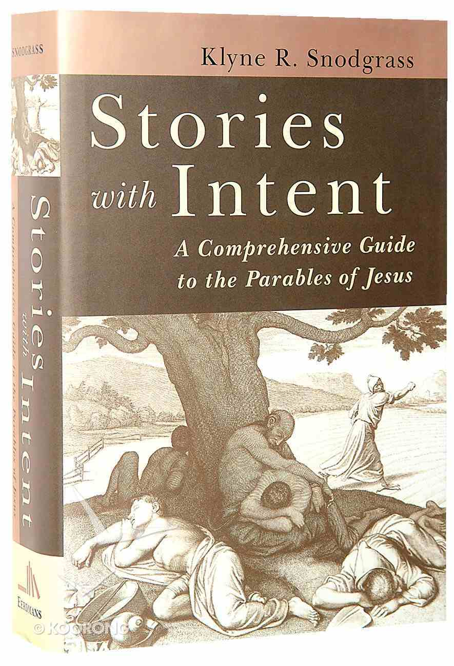 Stories With Intent Hardback