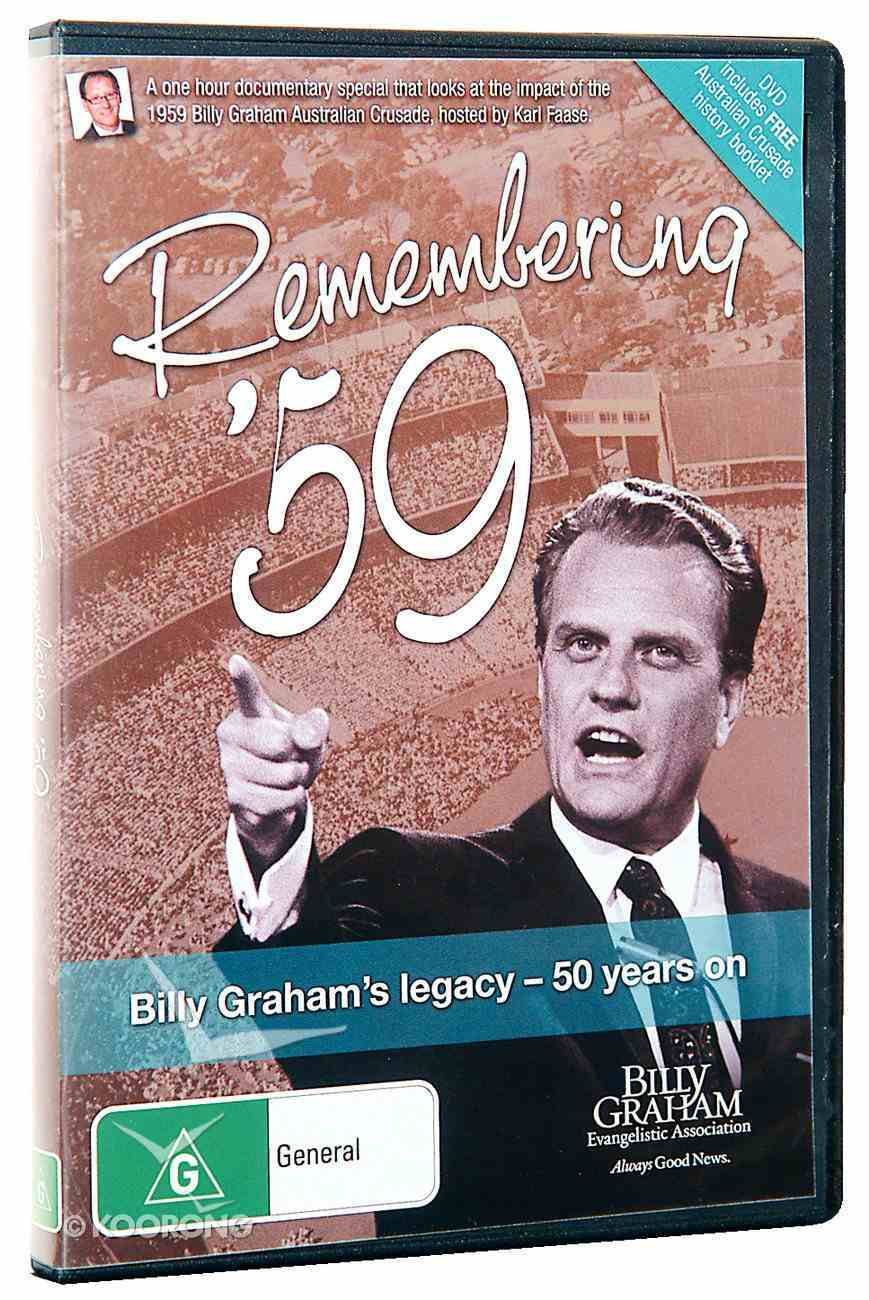 Remembering '59: Billy Graham's Legacy - 50 Years on DVD