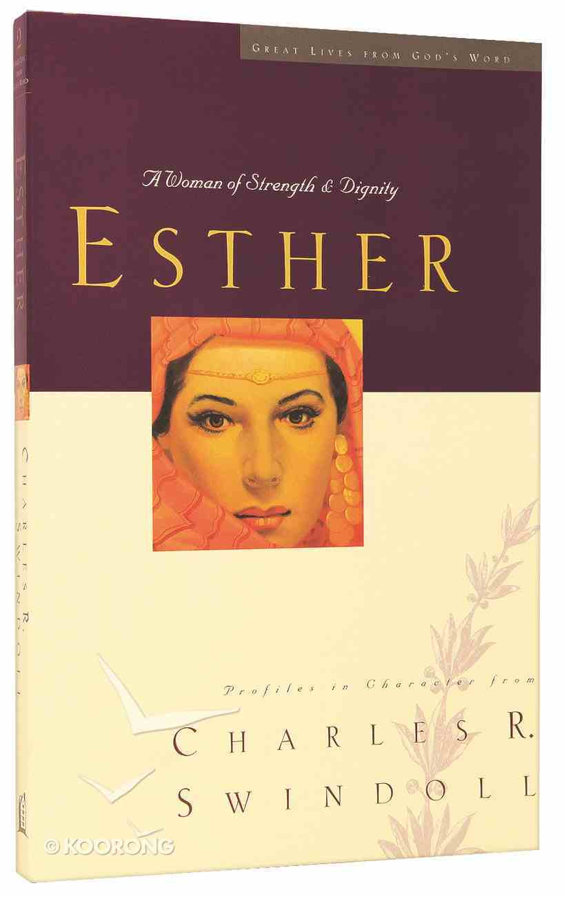 Esther (Great Lives From God's Word Series) Paperback