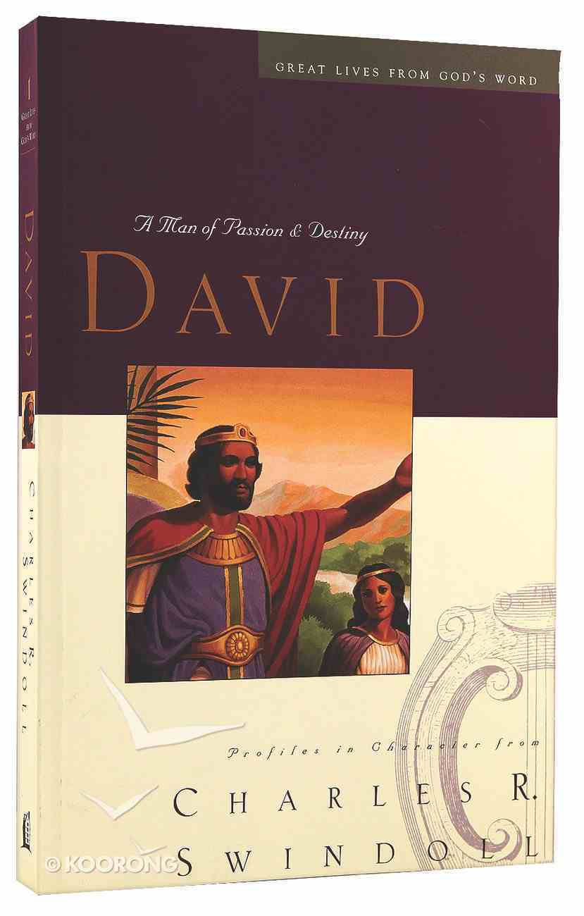 David (Great Lives From God's Word Series) Paperback