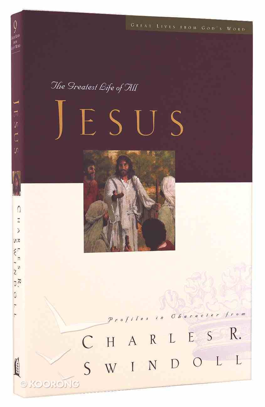 Jesus (Great Lives From God's Word Series) Paperback