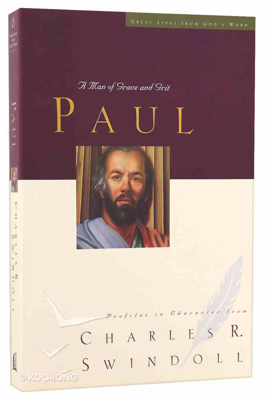 Paul (Great Lives From God's Word Series) Paperback