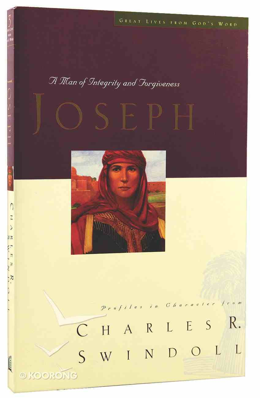 Joseph (Great Lives From God's Word Series) Paperback