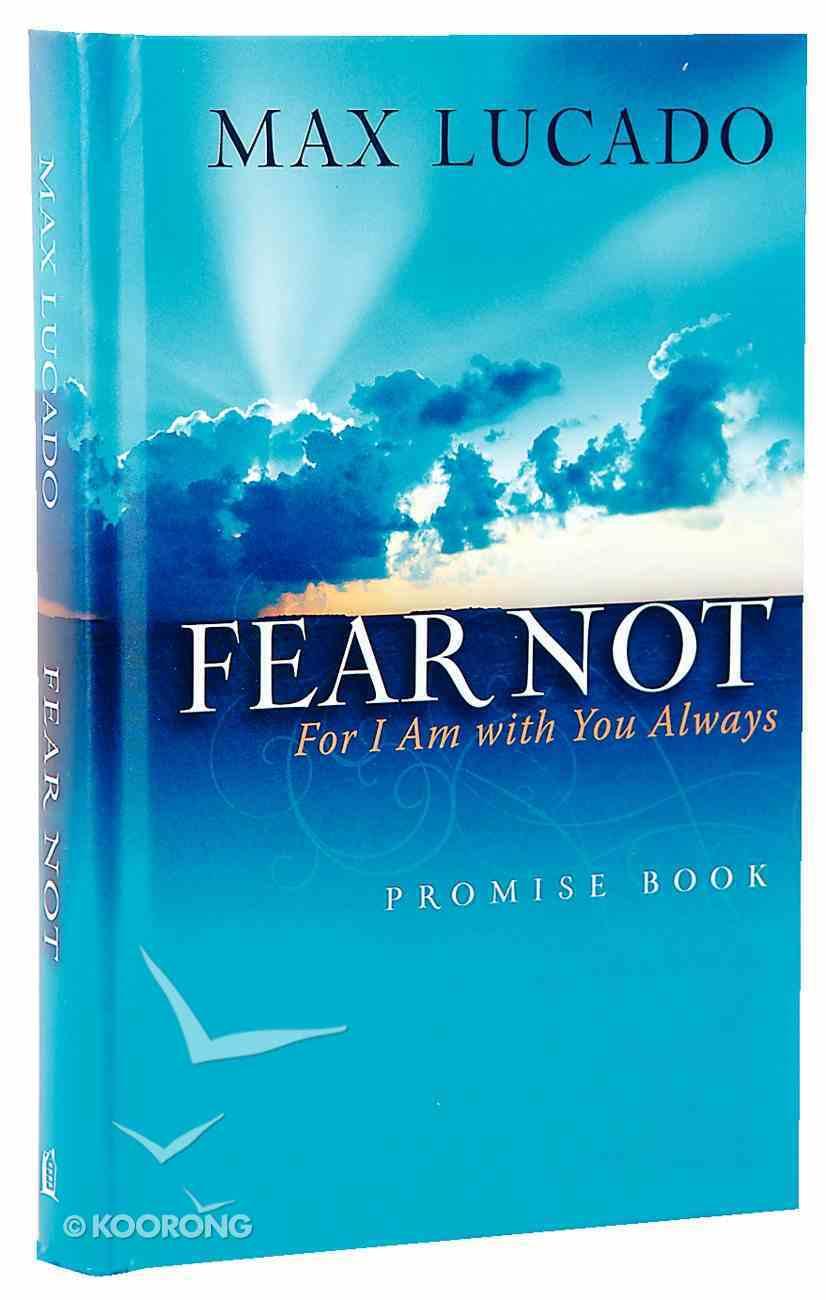 Fear Not Promise Book Hardback
