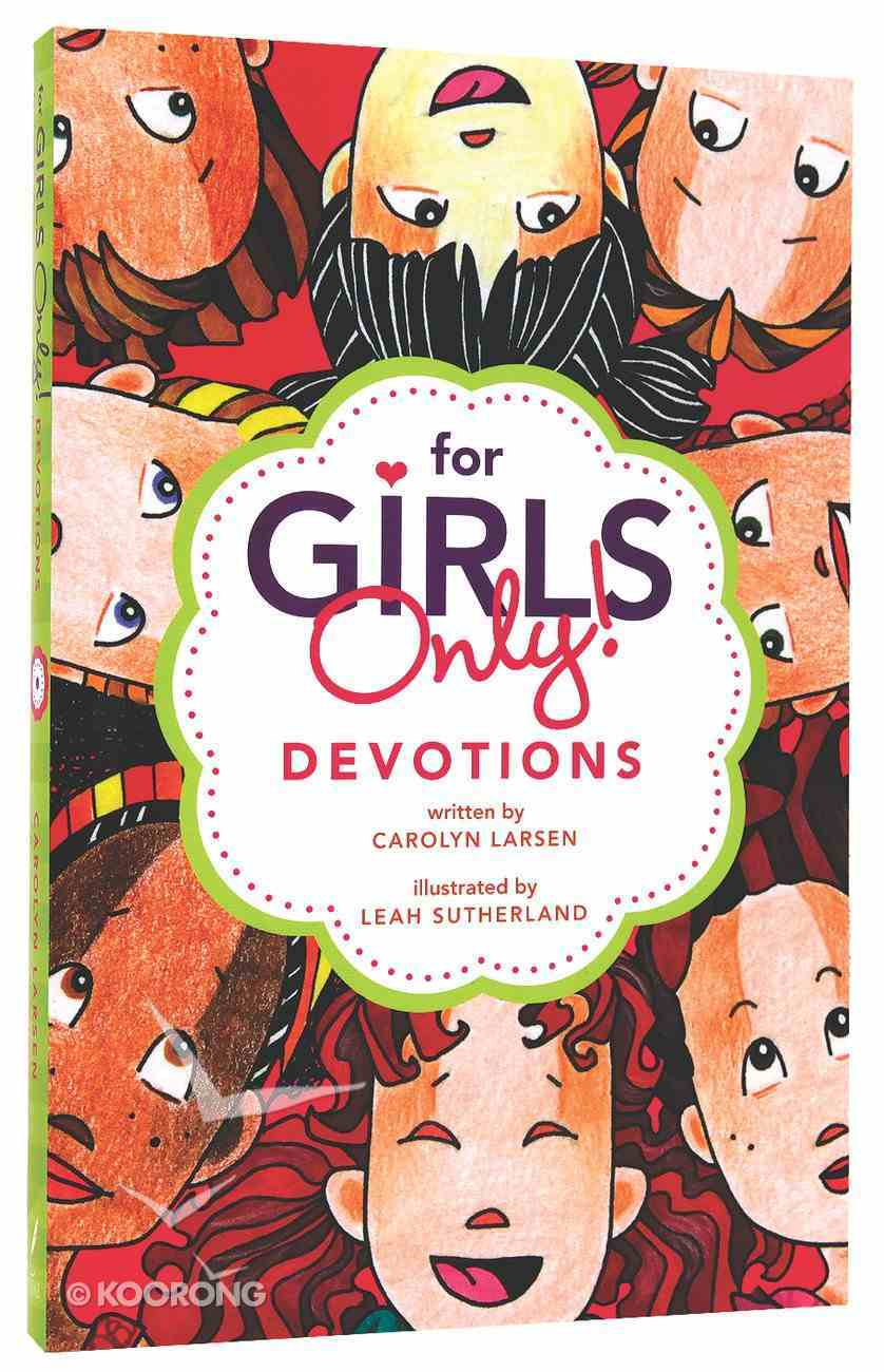 For Girls Only Devotions Paperback