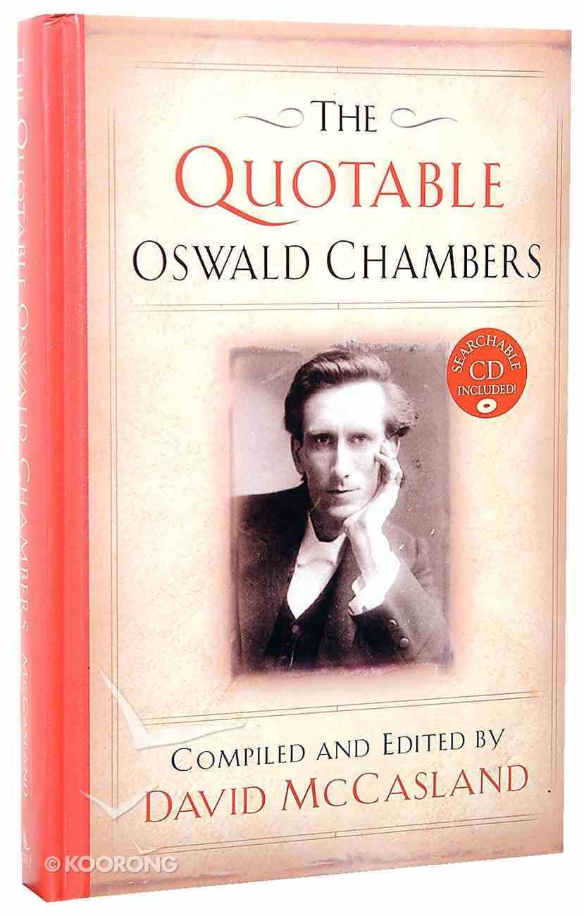 The Quotable Oswald Chambers Hardback