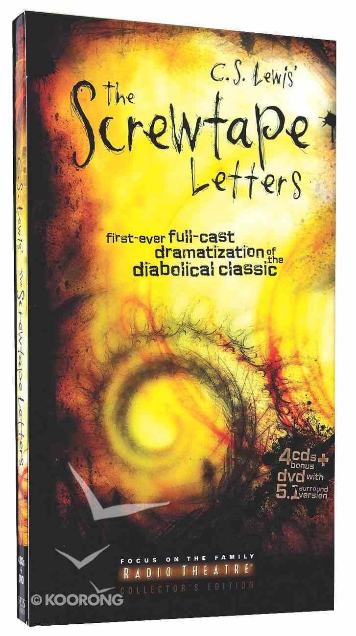 Screwtape Letters, the (Audio Drama) (4 Cds, Unabridged) CD
