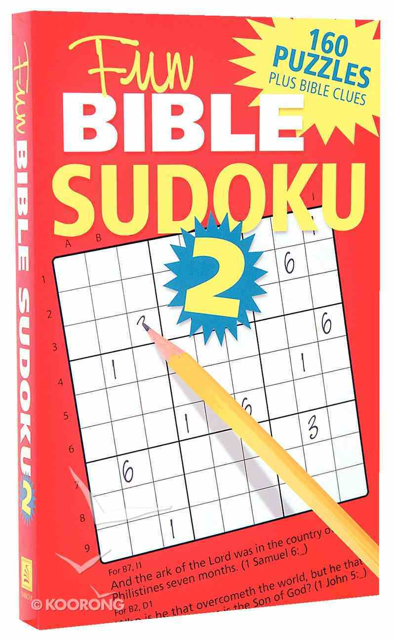 Fun Bible Sudoku 2 Paperback