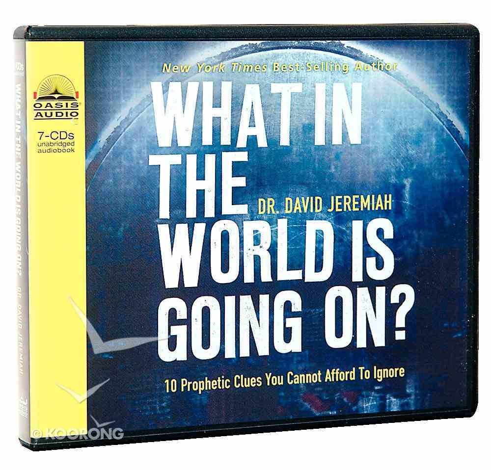 What in the World is Going On? (Unabridged, 7 Cds) CD