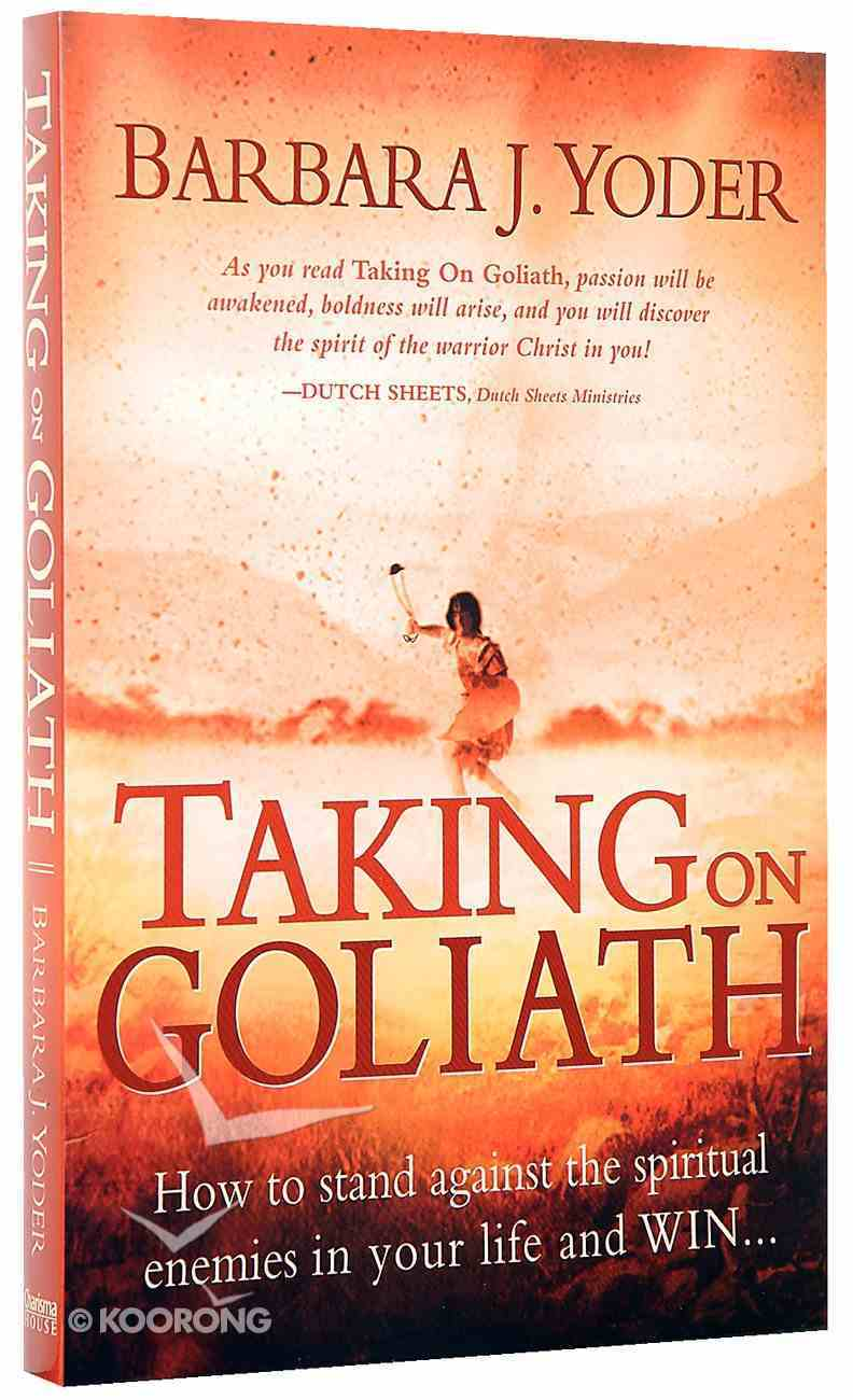 Taking on Goliath Paperback