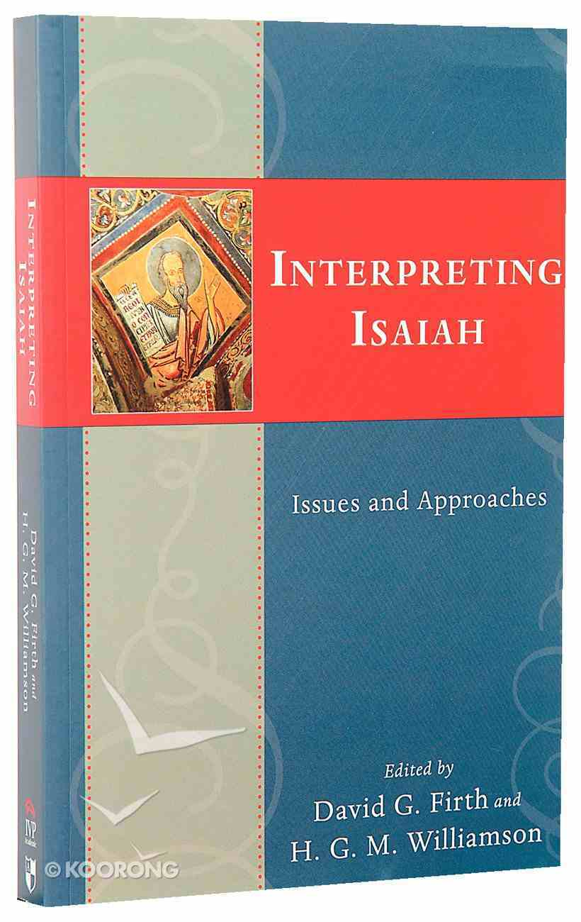 Interpreting Isaiah Paperback