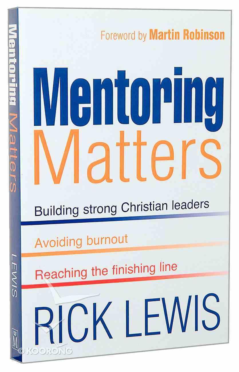 Mentoring Matters Paperback