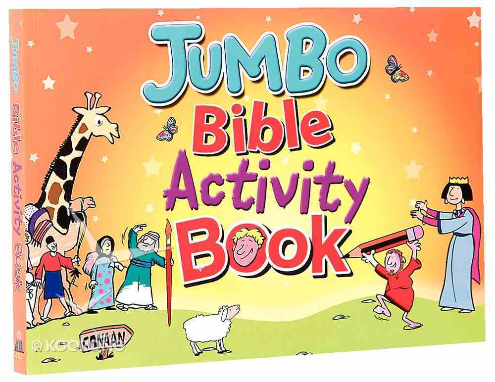 Jumbo Bible Activity Book 1 Paperback